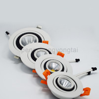 Wholesale Nature White Led Ceiling Lamps Dimmable High Bright Energy Saving V W Spot Lights for Foyer