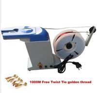 bag closure machine - Auto Twist Tie Machine Bread Candy Gift Bundling Tying Bagging Closure Machine