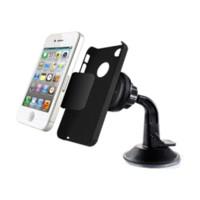 Parabrisas universal 360 Rotación auto del coche del teléfono móvil de Mount Magnet Holder Soporte magnético Móvil para el iPhone Samsung Galaxy LG