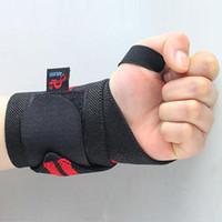 Wholesale Right Sporting Training Fitness Wrist Hand Finger Brace Elastic Support Sports Safety H1E1 H210671