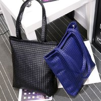 bag phone value - All match woven handbag ladies handbags vertical simple large capacity single bag bag brand value