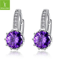 bargain gifts - Bargain Price Fashion Gorgeous Hoop Earring for Women With AAA CZ Luxury PLatinum Earring Jewelry gift