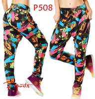 Wholesale Samba Dancing Clothes - ALL-ROUND FITNESS clothes Paradise - So Samba Harem Dance Pants P508