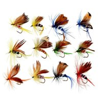 Wholesale 2016 New x Fishing Lures Dry Fly Fishing Tackle Butterfly Barb Single Hooks Useful Hot Sale Leurre Souple Drop Shipping