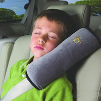 Wholesale Baby Pillow Car Safety Belt Seat Sleep Positioner Protect Shoulder Pad Adjust Vehicle Seat Cushion for Kids Baby Playpens