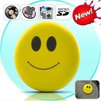 audio face - Mini Smiley Face DV Camera Button Sound Voice Recorder Hidden Camera DVR HD Audio Video Recorder USB Webcam Camcorder