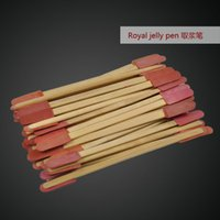 Wholesale Beekeeping tool royal jelly pen for sale Beekeeping tool wooden royal jelly pen Pack Royal Jelly Pen for Beekeeping Tools Take The Pulp Pen