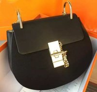 Wholesale 2015 New Fashion Women Real Leather Crossbody Designer Handbag Cover Plaid Chain Ladies Shoulder Bags Classic Bags quality with box