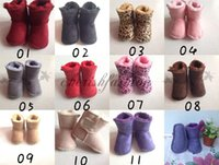 cotton fabric uk - Hot sale GG Infant boys girls toddler baby boots shoes UK infant snow boots Boys Girl First Walkers Shoes Warm Winter Snow Shoes M373B