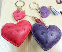 big lots phone - Fashion PU Leather Love Style Key Chain Bag Phone Decorations Toys a Birthday Gift Mixed Package
