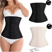 Wholesale Women Waist Trainer Super Steel Bone Hot Body Shaper Waist Cincher Control Corset Slimming Belt Tummy Size XS XL