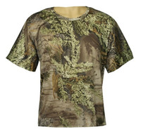 Wholesale OFF Men s Cotton Realtree Max Camouflage Hunting T Shirt Camo Shirts Camouflage Fishing Camo T shirt Clothes Camo Wear