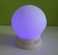 alarm clock hands - 2016 New Smart Alarm Clock Lamp Speaker With LED Screen Hands Free For Mp3 Mobile Phone iPad Free DHL