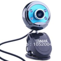 Wholesale BLUELOVER W9 HD laptop video webcam with microphone mic night vision free drive Genuine