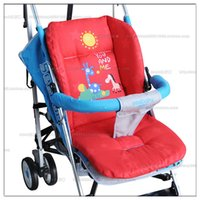 Wholesale 100 cotton pad cart cotton pad cushion baby car cushion seat bay stroller mat baby stroller mat