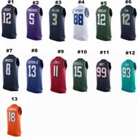 vest tops for men - Basketball Star Name Tank Tops Basketball Jersey Sport Muscle Sleeveless Vest GymShark Tank Tops with Solid Color for Men V6