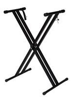 Wholesale Folding Metal Music Keyboard Electric Piano Dual Tube X Stand Standard Rack New
