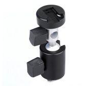 ac brackets - Universal Degree Camera Flash Hot Shoe Adapter Umbrella Holder Swivel Light Stand Bracket Triangular interface Type C Photography Ac