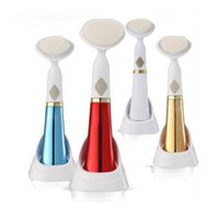 Wholesale South Korea Electric wash face brush Machine Facial Pore Cleaner Body Cleaning Skin Massager beauty tool Pobling