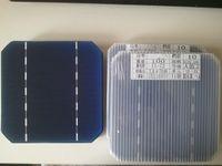 Wholesale 100 Mono Solar Cell x5 W Grade A DIY Solar panel monocrystalline solar cells with Enough tabbing wire busbar