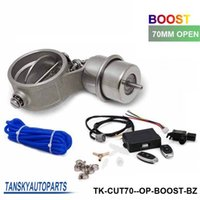 Wholesale Exhaust Control Valve With Boost Actuator Cutout mm Pipe Opend with Wireless Remote Controller Set TK CUT70 OP BOOST BZ