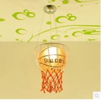 basketball savings - Kids Children Room Cartoon Novelty Basketball E27 V Decoration Pendant Lights Lamp Indoor Lighting Fixtures for Bedroom Living Room