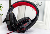 Wholesale Gaming Headphone with LED Light Over ear Headset Professional Gaming Headset with Mic Stereo Bass with Retail Box