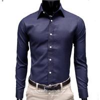 Wholesale 2016 explosion original classic stripe thin bar men s long sleeved shirt casual shirt