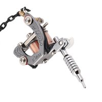 copper tattoo machine - 1pcs Mini portable tattoo machine tattoo tools bottle opener key chain Handicraft collections easy to use
