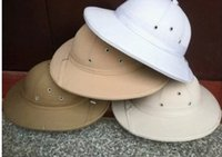 Wholesale Vietnam Hunting Tactical Caps Outdoor Breathable Canvas Helmet Army Fans Outdoor Headwear Traveling Wide brim Cotton hat