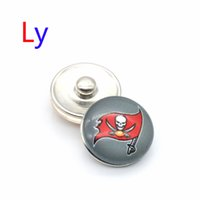 bay rings - NOOSA Tampa bay sports snap button interchangeable packers snap bracelets jewelry pirates snap ginger button Chunks Clasps Snap YD0016