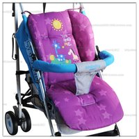 Wholesale Baby stroller accessories winter cotton seat pad for baby stroller mattress in the pram cushion in a baby car thicken mat