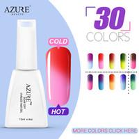 T01-T48 azure fashion - fashion Azure Temperature Changing gel set Change Color Soak off Gel Polish Full Set colors UV Gel Kit Gel Polish ml