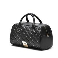 Wholesale Kardashian Kollection Sale - Hot Sale New Kardashian Kollection Handbags New Portable Shoulder Bag Messenger Bag Quilted Rivet Package Kk Z234