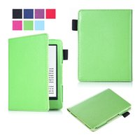 Wholesale All New Litchi PU Leather Cover Case for Amazon New Kindle