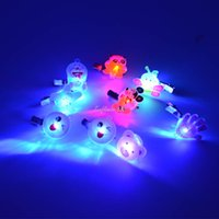 Wholesale Classic Girls Children Jelly LED Flashing Multi Color Hair Clip Bobby Pin Hairpin Brooch Party Decor