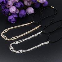 Wholesale 12pcs women s vintage luxury rhinestone headband elastic Headbands head chain wedding party hair accessories