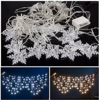 Wholesale 8 Photos Curtain String Lights Garden Lamps New Year Christmas Icicle LED Lights Xmas Wedding Party Decorations M M LEDs
