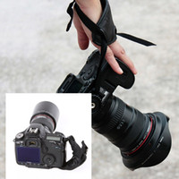 camera hand grip - High Quality PU Leather Soft Hand Grip Wrist Strap for Nikon Canon Sony SLR DSLR Camera