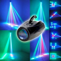 Wholesale Hot sale Mini Auto Sound Active LEDs RGBW Light Disco DJ Equipment in Stage Lighting Effect Club Party Show Hundreds of Patterns