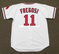 angels bowls - JIM FREGOSI California Angels Majestic Cooperstown Home Baseball Jersey