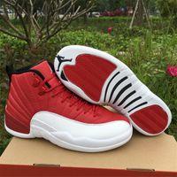 authentic retro jordan - 130690 Air Jordan Retro Gym Red Authentic NEW Retro s Sneakers Jordan Retros XII Original Sports Size US