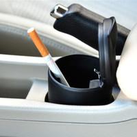 Wholesale Portable Auto Car Truck LED Cigarette Smoke cigar car Ashtray cendrier cenicero cinzeiro ceniceros asbak Ash Cylinder Cup Holder