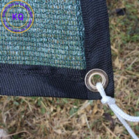 Wholesale M x M Plant Sun Shade Netting UV protection with free rope for Horticulture garden flower