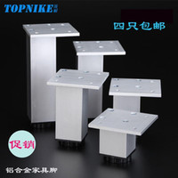 aluminum cabinet manufacturers - Cabinet legs can be customized Aluminum Alloy highly customized square adjustable adjustment pads furniture leg ambry manufacturer