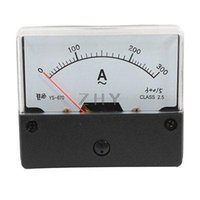 Wholesale Class AC0 A Fine Tuning Dial Alternating Test Panel Meter Ammeter Gauge