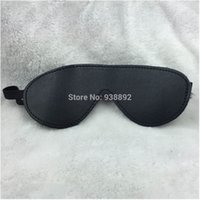 Cheap Cheap Leather Blindfold Sexy Eye Mask Patch Bondage Masque Mask Sex Aid Party Fun Flirt Sex Toys For Couple Adult Mask Women Man