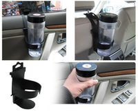 auto design cup - New Black Universal Car Vehicle Protable Design Car water cup drink black holder shelf Auto cup beverage holder supplies SD