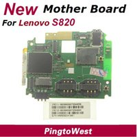 Wholesale Original New Lenovo S820 Main Board Mother board Mainboard Motherboard With IMEI Lable From Lenovo Service Center