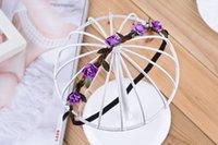 Wholesale Tiaras Hair Jewelry Manufacturers Selling Wedding Fashion Handmade Korean Hair Bride Wreath Girls Hair Seaside Resort